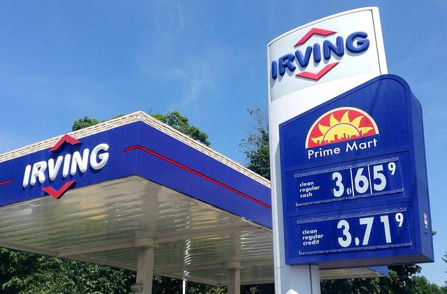 A benzinkút üzemeltetéshez kútoszlop is szükséges