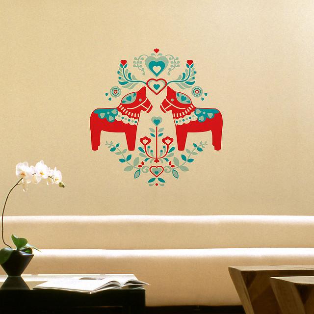 Falmatricák a lakás dekorálására