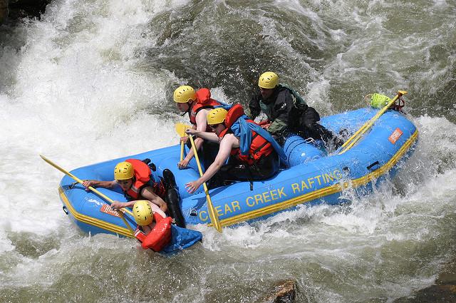 Igazi adrenalin löket a rafting túra