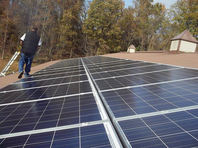A napelemes közvilágítás legyen a mindennapunk része!