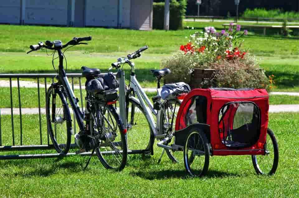 Rendelhető bicikli utánfutó többféle formában