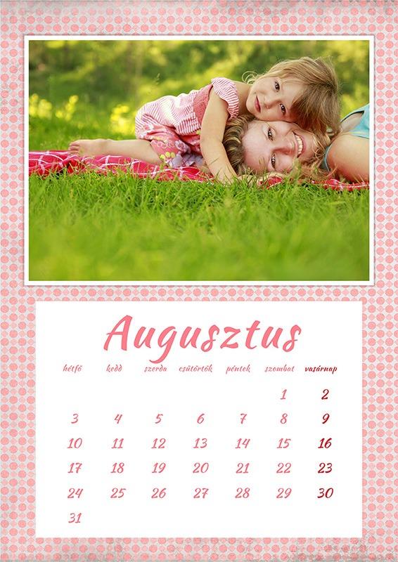 Fényképes naptár készítés vállalati és magáncélokra