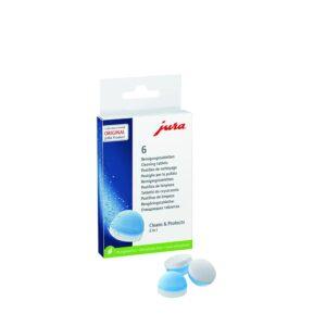 Remek termék a Jura tisztító tabletta